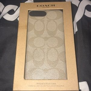 iPhone coach case 6/7/8 plus